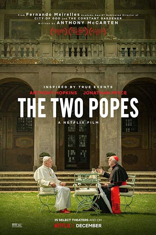 دانلود فیلم The Two Popes 2019 دوبله فارسی و کیفیت عالی