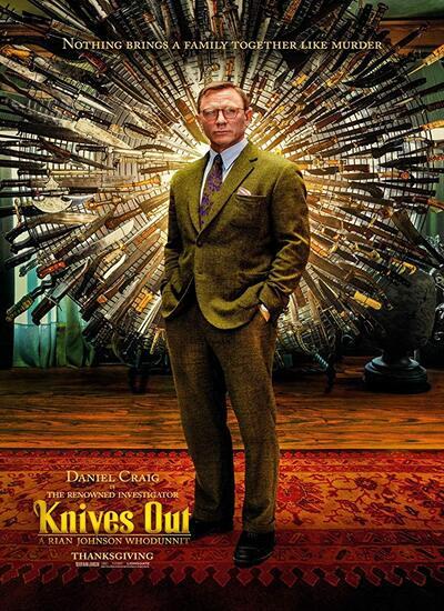 دانلود فیلم Knives Out 2019 دوبله فارسی با لینک مستقیم