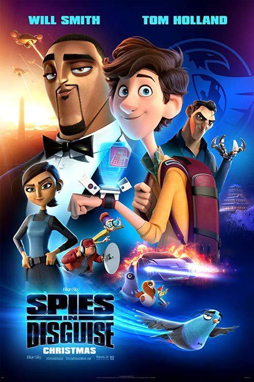 دانلود انیمیشن Spies in Disguise 2019 با لینک مستقیم