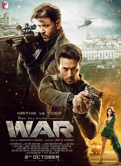 دانلود فیلم جنگ دوبله فارسی War 2019