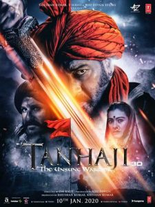 دانلود فیلم Tanhaji The Unsung Warrior 2020