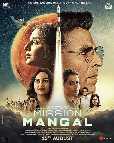 دانلود فیلم عملیات مریخ دوبله فارسی Mission Mangal 2019