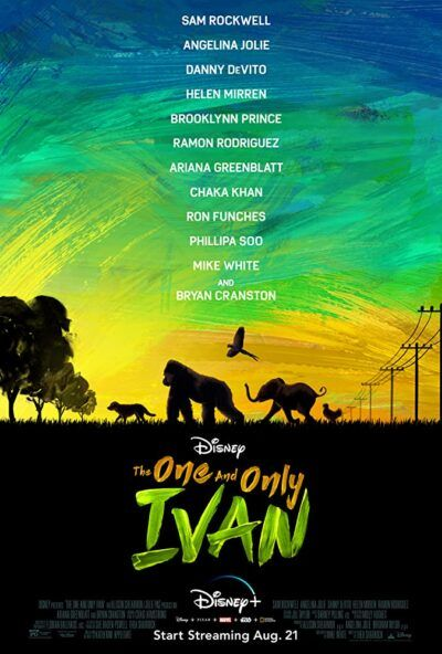 دانلود انیمیشن ایوان مشهور دوبله فارسی The One and Only Ivan 2020