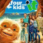 دانلود فیلم چهار بچه و موجود شنی دوبله فارسی Four Kids and It 2020