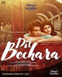 دانلود فیلم Dil Bechara 2020 با دوبله فارسی