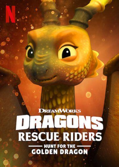دانلود فیلم Dragons: Rescue Riders: Hunt for the Golden Dragon 2020