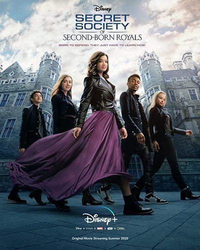 دانلود فیلم Secret Society of Second-Born Royals 2020 با دوبله فارسی