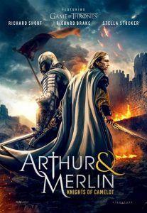 دانلود فیلم آرتور و مرلین دوبله فارسی Arthur & Merlin: Knights of Camelot 2020