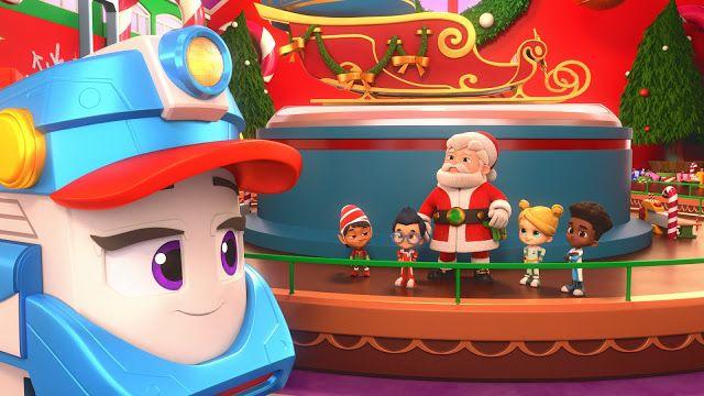 دوبله فارسی انیمیشن قطار تندرو: کریسمس شگفت انگیز سال 2020