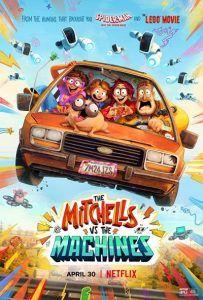 دانلود انیمیشن The Mitchells vs the Machines 2021 با دوبله فارسی
